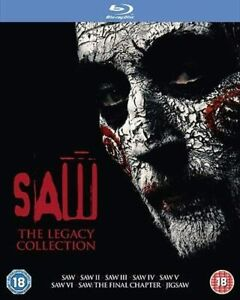 Saw The Legacy Collection Blu ray Box Set RB