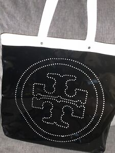 EUC TORY BURCH PATENT LEATHER XL TOTE