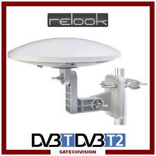 Antenne Terrestre Omnidirectionnelle Relook RE-TAO32B DVB-T, DVB-T2, FM / DAB+