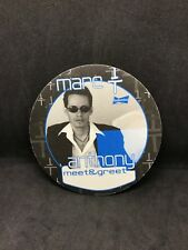 Mark Anthony Meet And Greet Unused Cloth Authentic Backstage Pass