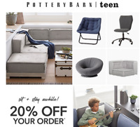 Pottery Barn teens Coupon CODE -  20% Off  ONLINE/ In-Store *** INSTANT DELIVERY