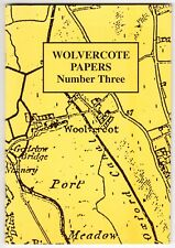 Wolvercote Papers Number Three - Historical Society booklet - 2000