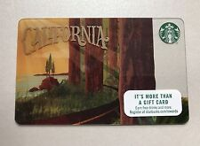 STARBUCKS CALIFORNIA GIANT REDWOODS GIFT CARD, COFFEE