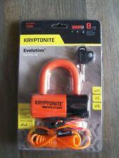 Kryptonite Evolution  Series 4 Disc Lock  Premium Packaging Orange Grade 8