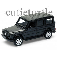 "4.5"" Welly Mercedes Benz G Class Wagon Diecast Toy Car 43689D Black"