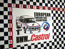 BMW 3.0 CSL 1973 Touring Car Sticker
