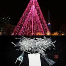 10M 100 LED String Fairy Lights Indoor/Outdoor Xmas Garden Party Lighting Pink