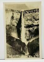 RPPC Devil's Punchbowl Grand Coulee Waterfall Washington Ellis Photo Postcard H3
