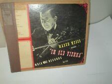 MAREK WEBER - IN OLD VIENNA rare Antique 78 rpm Box Set 4 records 1940s Exc/Vg