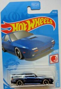 2021 Hot Wheels HW J-IMPORTS 5/10 '89 Mazda Savanna RX-7 FC35 176/250 (Blue)
