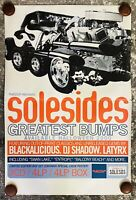Quannum Projects - Solesides Greatest Bumps - DJ Shadow - Poster - Vintage - New