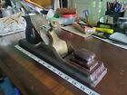 """ANTIQUE GUNMETAL INFILL PANEL PLANE 16 1/4"""" x 3"""" WEIGHS 10 POUNDS"""