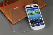 For Samsung Galaxy S3 S III 3 TPU Wrap Up Case Cover w Built In Screen Protector