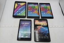 LOT OF 5 ALCATEL FAKE DUMMY TABLETS - FOR DISPLAY, PROPS, TOYS, RETAIL ETC