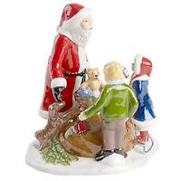 Villeroy&Boch Christmas Toys Spieluhr Szene Santa mit Kindern 6506 OVP 2016