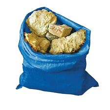 STRONG HEAVY DUTY CLEAR PLASTIC RUBBLE BAGS//SACKS BUILDERS BAGS ALL SIZES