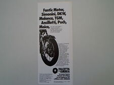 advertising Pubblicità 1977 FALCETTA E GUERRA