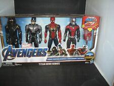 Marvel Avengers Infinity War Titan Hero Series 4 Pack-Ronin-AntMan-CaptAmer-Iron