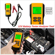 Professional LCD Digital Car Autos Battery Tester Load Test Analyzer Tool AE300