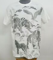 Hustle Gang White Revanent Scenic S/S Men's Tee Shirt NWT $62 Choose Size