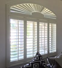 Painted Solid Real Wood Shutters