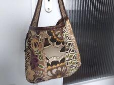 Fossil Tasche Shopper Leder Stoff