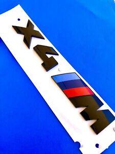 Logo X4 M Pack Competition Exclusive Original F26 G02 Badge X4M Black Series