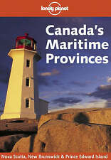 Lonely Planet Canada's Maritime Provinces-ExLibrary