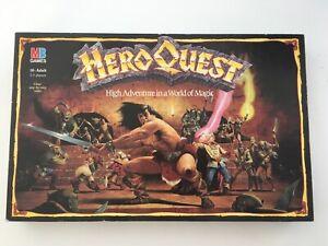 HeroQuest Milton Bradley 1989 Complete