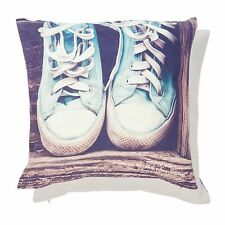 NEW Clayre Chocks Pillowcase Pillow Cover Shabby Chic 40x40cm Trainers