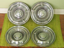 "1958 Oldsmobile HUB CAPS 14"" Set of 4 Wheel Covers 58 Olds Hubcaps"