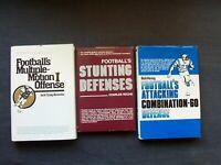 coaching football books  Football's Multiple-Motion I Offense, Stunting Defenses