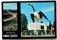 Wawa Goose, Wawa Ontario,  Canada Postcard B620