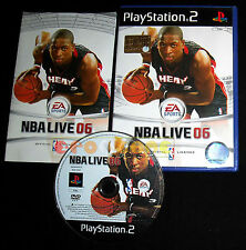 NBA LIVE 06 Ps2 Versione Ufficiale Italiana 1ª Edizione ••••• COMPLETO
