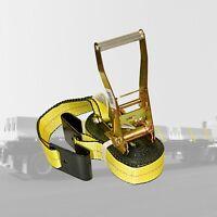 Heavy Duty Tie Down Straps 2 in. x 27 ft. 10000 LBS. F-Hook