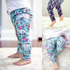 Toddler Baby Harem Pants Boys Girls Cartoon Bottoms Pants Leggings Trousers 0-2T