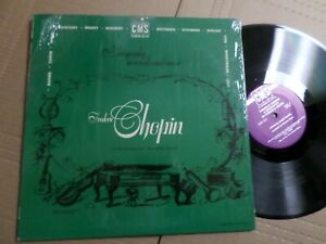 A Biography in words and music FREDERIC CHOPIN - CMS Lp