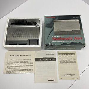 Radio Shack 12-240 Weather Alert Weatheradio Three-Channel Tested Vintage