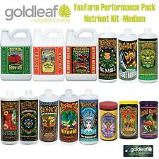 FoxFarm Performance Pack Complete Nutrient Kit - Medium w/Big Bloom, Grow Big +