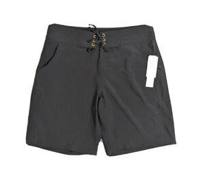 La Blanca Black All Aboard Board Short NEW Size Medium $54 Swim Suit Cover Up