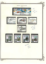 NEW ZEALAND 1987 SC.871-879  AIRPLANES USED/MNH BBPG10