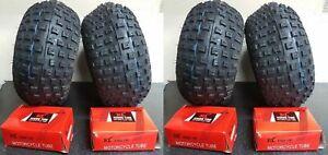 Four Tyres & Four Tubes – Maxxis CST Quad LT50 – 4x 145x70x6 & 4x TR87 Tubes