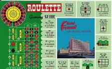 """Las Vegas NV   """"The Hotel Fremont Roulette Gaming Guide""""  Postcard Nevada"""