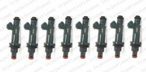 Set of 8 DENSO 3352 Injector 1998-2003 Jaguar XJ8 4.0L V8 AJ27 XR82-AF