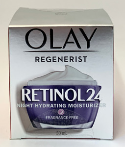 Olay Regenerist Retinol 24 Night Hydrating Moisturizer Fragrance-Free 50ml