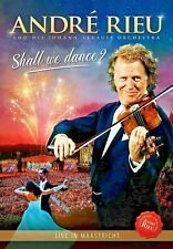 Shall We Dance Live In Maastricht  DVD Andre Rieu New Sealed