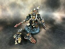 Warhammer 40k Chaos Space Marines Terminator Lord Magnetized Arms