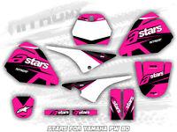 YAMAHA PW 80 PW80 PEE WEE Graphics Kit Decal Design Stickers Motocross MX Enduro