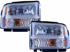 Brand New Clear Headlights Fits: 2005 2006 2007 Ford F250 F350 F450 F-350