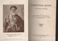 "MONTAGUE FOWLER - ""CHRISTIAN EGYPT"" (1901) - CLEAN WITHIN BUT NEEDS REBINDING"